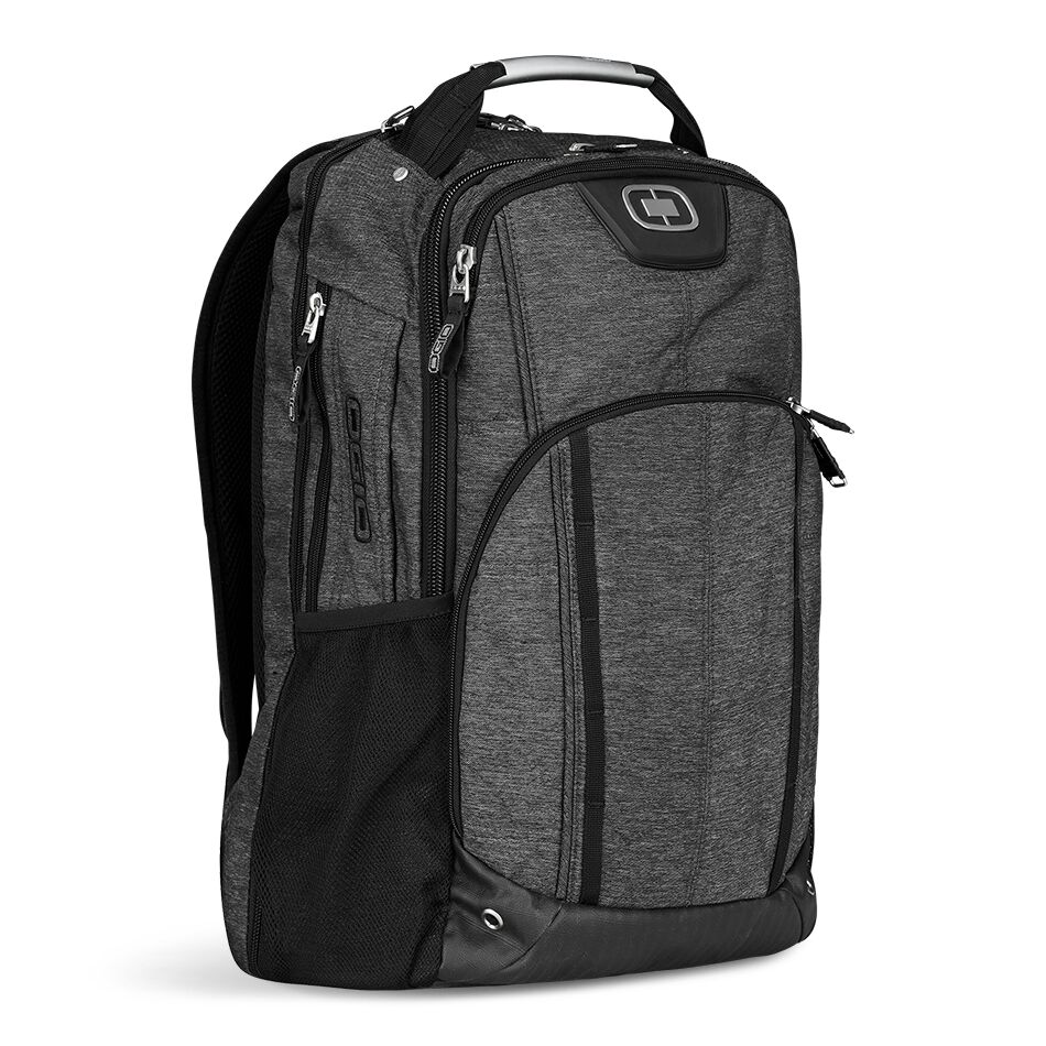 Travel with ease and convenience with the Axle Laptop Backpack. No more fumbling with your laptop when you're trying to catch your business flight.