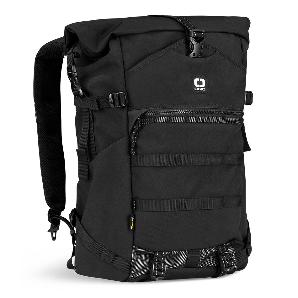 The OGIO ALPHA Convoy 525r Backpack is fully loaded and ready for anything with a modern rolltop design. This backpack will keep up with your nonstop lifestyle 365 days per year and integrates with the Convoy MOD Modular Organizational Design System.