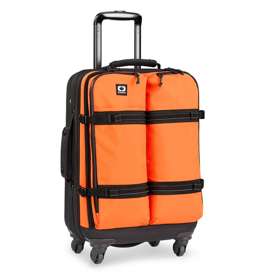 The OGIO ALPHA Convoy 522s Travel Bag is the most complete and fully equipped travel bag, this 4wheel carryon spinner is the most essential and functional piece of travel equipment.