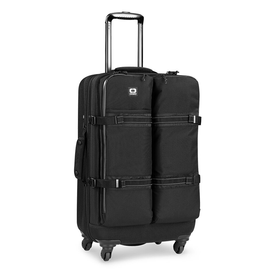 The OGIO ALPHA Convoy 526s Travel Bag is our largest travel bag. It's fully equipped with 4wheel spinners and organization that allows you to customize your packing space.