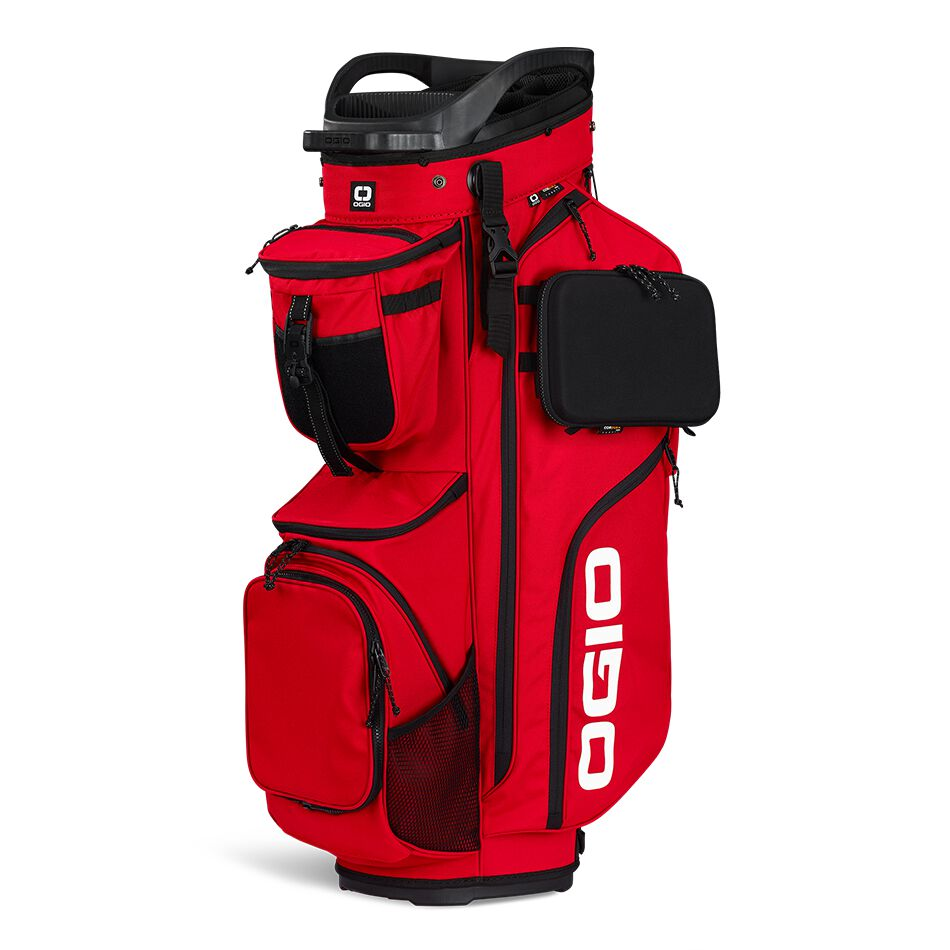 The OGIO Alpha Convoy 514 Cart Bag is the ultimate fully loaded cart bag with hand selected materials, intuitive organization, and exceptional durability.