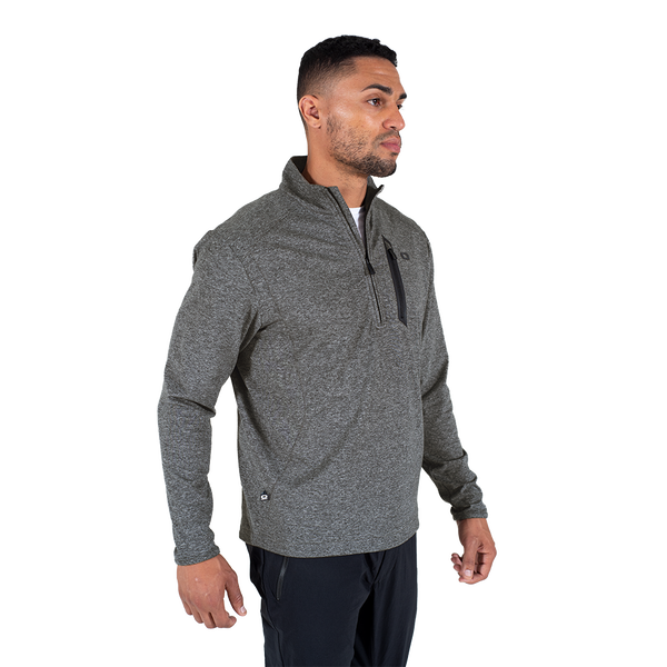 All Elements Stretch Fleece ¼ Zip Pullover - View 4