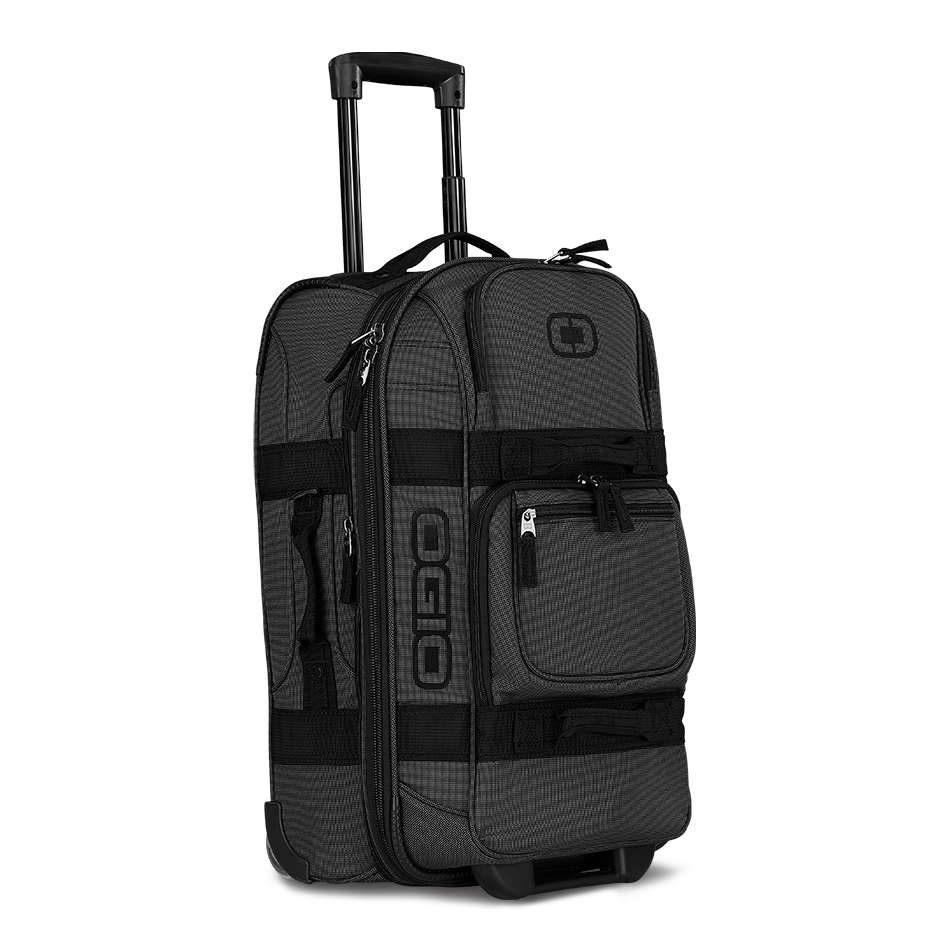 Ogio_Layover_Travel_Bag_OGIO_Suitcase_Luggage_Black_Pindot