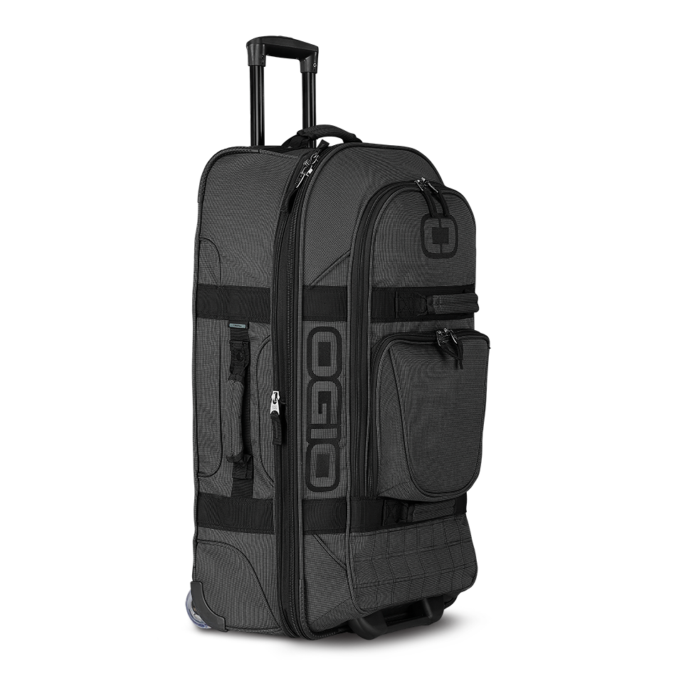 Ogio_Terminal_Travel_Bag_OGIO_Suitcase_Luggage_Black_Pindot